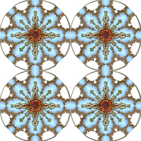 Gilt Snowflake 2