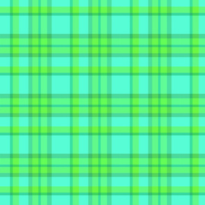 Seafoam Plaid
