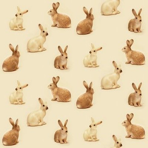 Bunnies in Caramel II