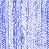 Braided in Periwinkle Blue