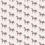 Arabian Horse Antique, half drop