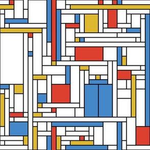 Mondrian Blue Box (neoplasticst)