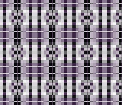 Plum Pixel Geometric 1 © Gingezel™