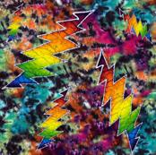 Mirror Image Rainbow Tie dye Grateful Dead