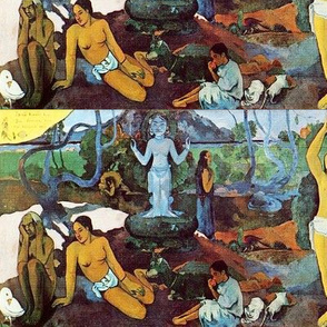 Gauguin - Where Do We Come From? What Are We? Where Are We Going? (1898)