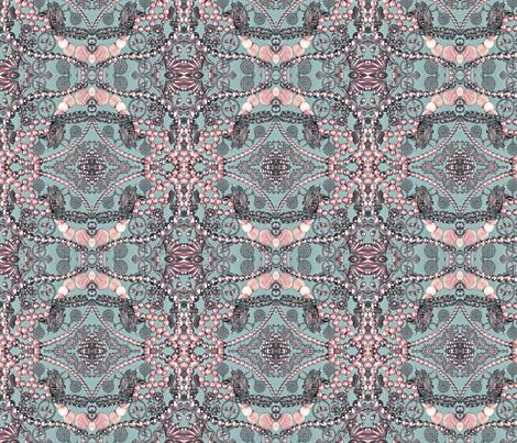 pretty in pink fabric by kociara on Spoonflower - custom fabric