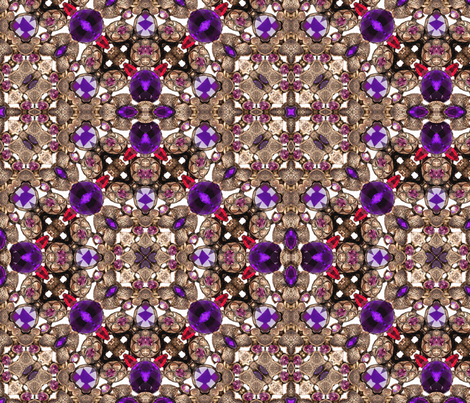 jewel box fabric by kociara on Spoonflower - custom fabric