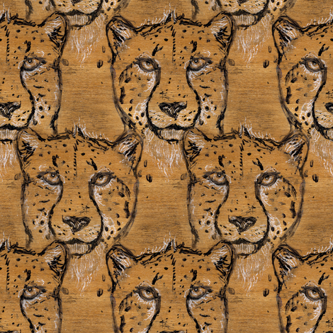 Maple Cheetah fabric by eclectic_house on Spoonflower - custom fabric