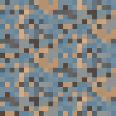 Beige and Blue Pixel Check © Gingezel™