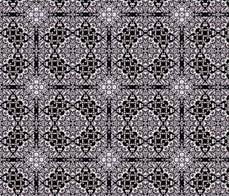 crystals fabric by kociara on Spoonflower - custom fabric