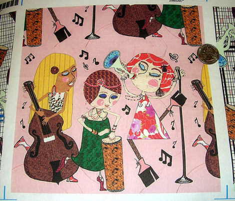 The Jazzy Jezebels, pink