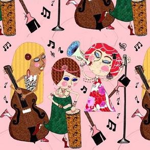 The Jazzy Jezebels, pink