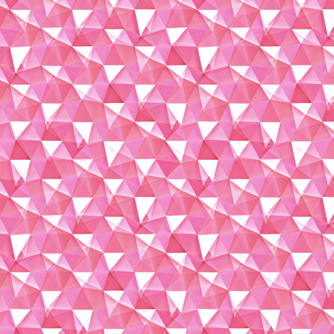 rose quartz crystals fabric by weavingmajor on Spoonflower - custom fabric