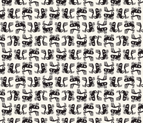 frogs fabric by cepera on Spoonflower - custom fabric