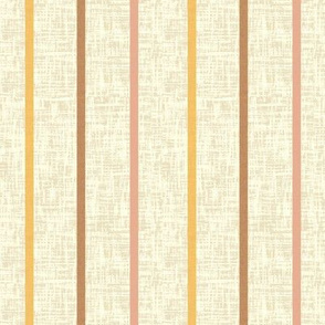 Minoan stripe 3 on milk cream linen weave, by Su_G