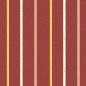 Minoan stripe 1 on Egyptian red