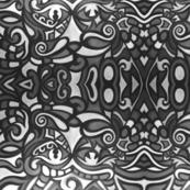 abstract gray shapes