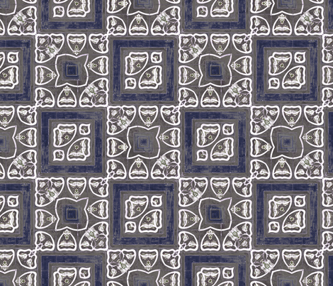 tile 21 fabric by kociara on Spoonflower - custom fabric