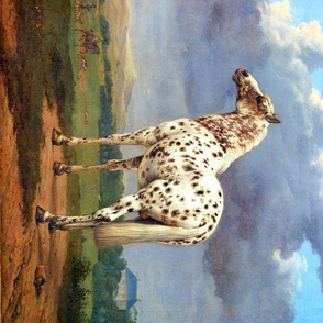 Paulus Potter: The Piebald Horse