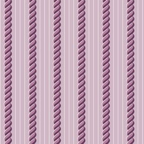 Lavender Cablestripe
