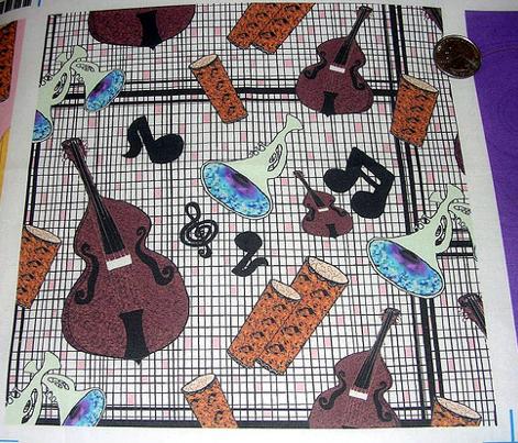 Jazzy Instruments, pink / black