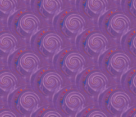 Groovy Multi Swirl fabric by amy_g on Spoonflower - custom fabric