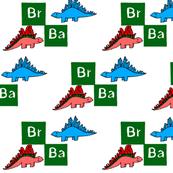Breaking Bad Dinosaurs Print