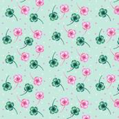 Shamrock Pink Mint Ditsy Speckle