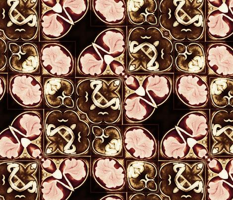 tile 22 fabric by kociara on Spoonflower - custom fabric