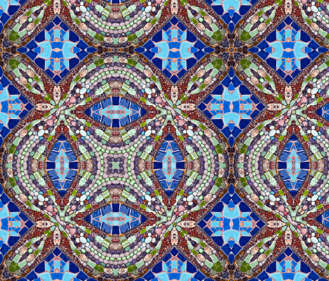 tile 27 fabric by kociara on Spoonflower - custom fabric