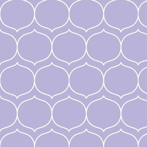 sugarplum light purple and white