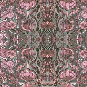 metallic floral 3