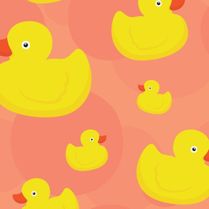 Rubber duck (pink)