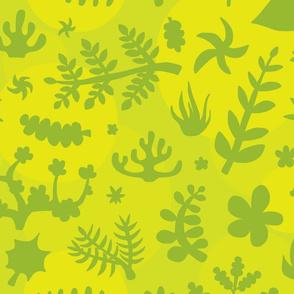 Plants (green)
