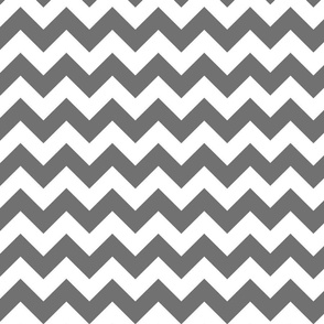 small dark grey chevron