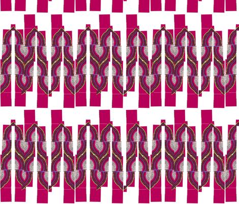 geode slices fabric by weejock on Spoonflower - custom fabric