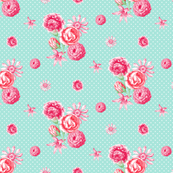 Flowers and Dots 01