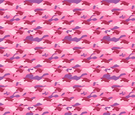 Unicorn Camo Pink (small)