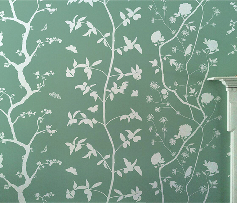 Jenny Simple cherry blossoms on jade