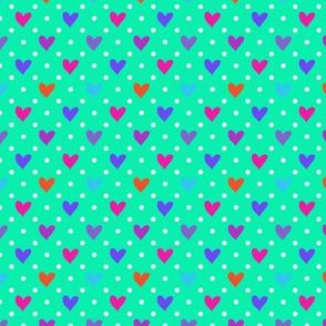 Sweet Hearts multicolor