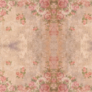 A Toile Version of Vintage Roses