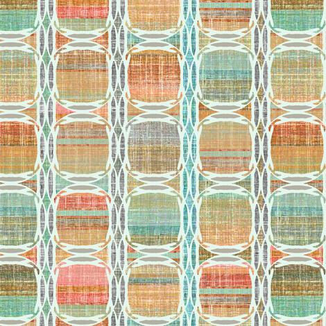 Linen Mod Dots and Stripes