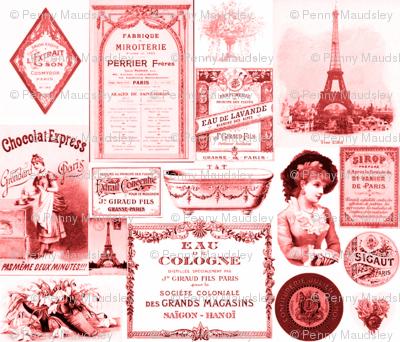 PARIS IN RED