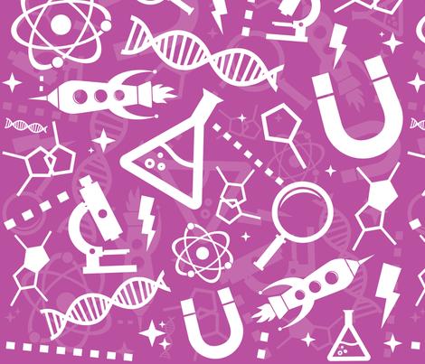 Science  fabric by dmitriylo on Spoonflower - custom fabric