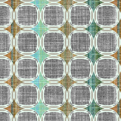 Danish Modern Jade fabric by joanmclemore on Spoonflower - custom fabric