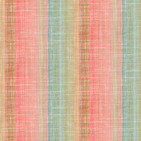Linen Sandstone Stripe fabric by joanmclemore on Spoonflower - custom fabric