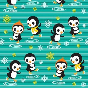 Skating Penguins