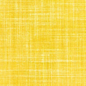 Linen in Sunshine yellow