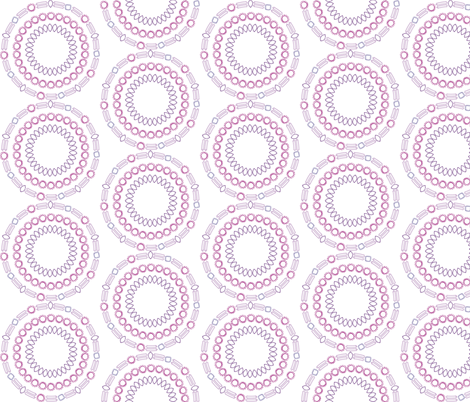 Rings of Jewels fabric by asouthernladysdesigns on Spoonflower - custom fabric