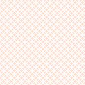 Cutout Plaid Micro Geometric in Peach